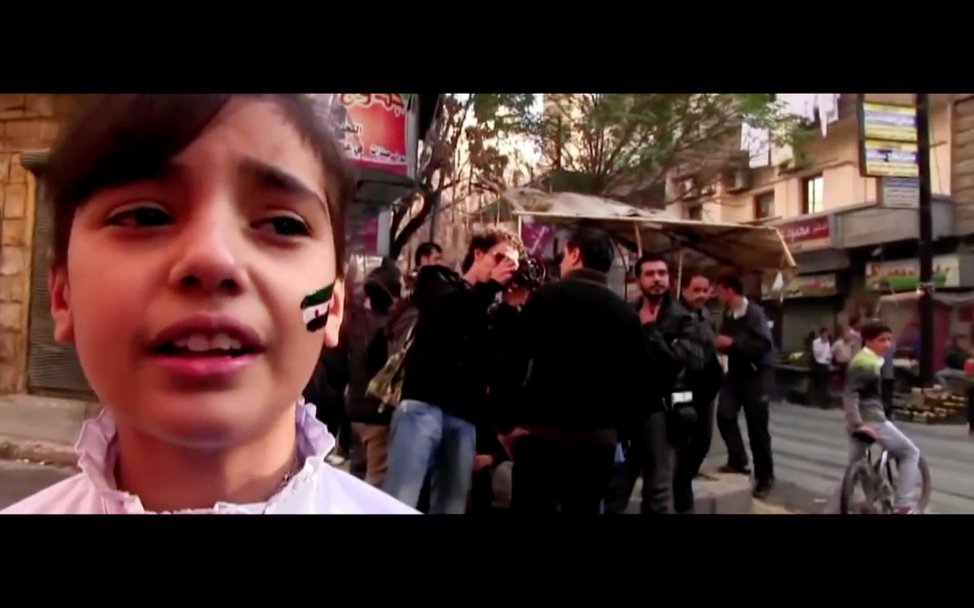 The Quake - Syrian rebel girl